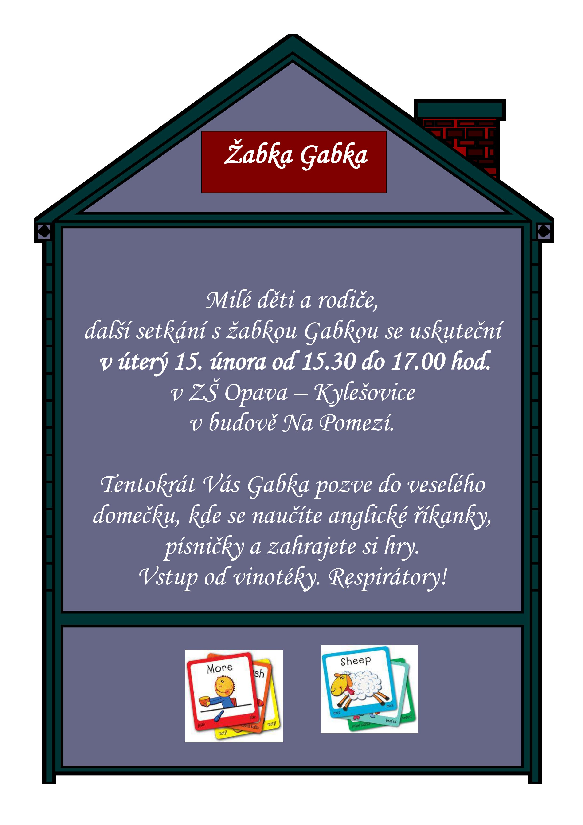 Žabka Gabka